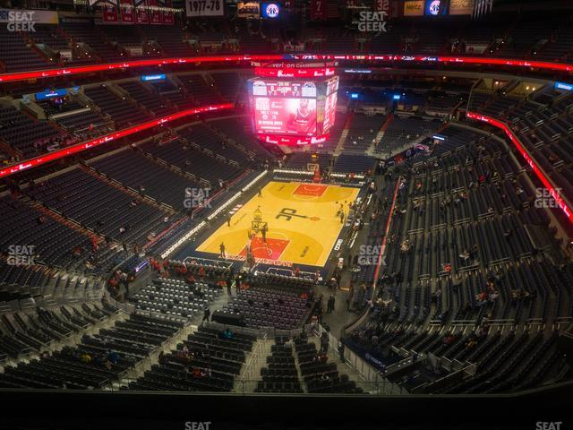 Capital One Arena Section 427 view