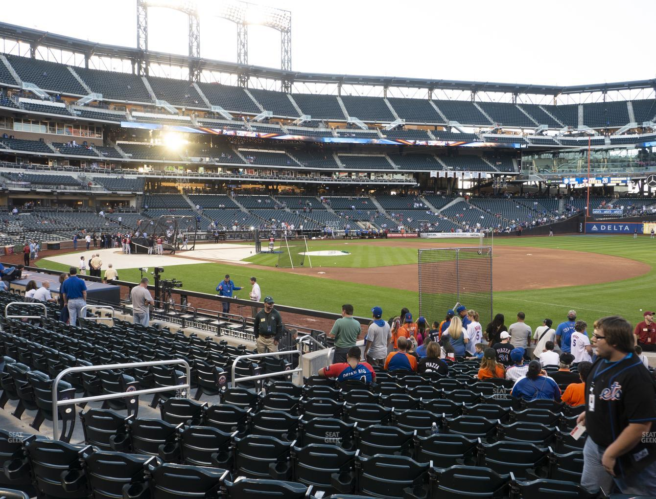 New York Mets at Citi Field Section 109 View