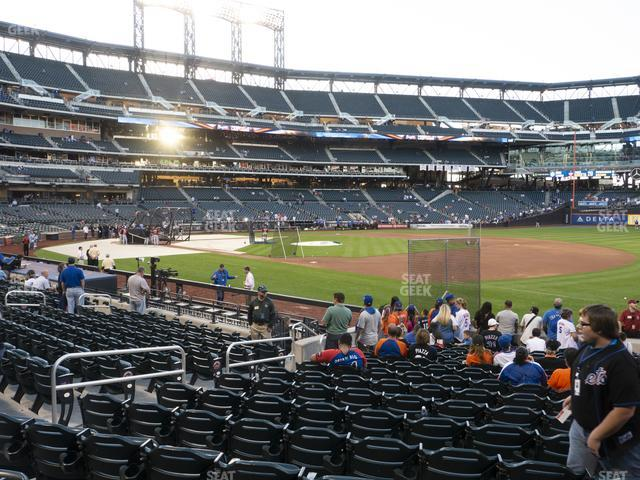 Citi Field Section 109 view