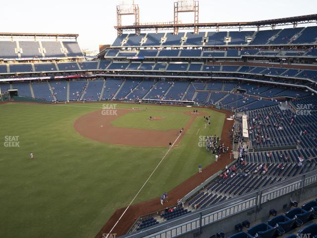 Citizens Bank Park Section 333 view