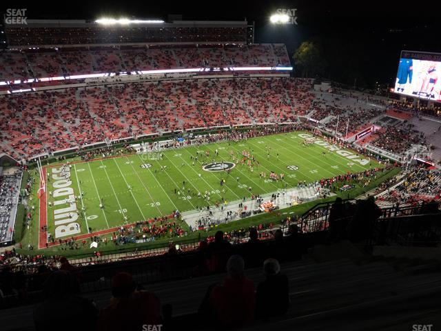 Sanford Stadium Section 610 view
