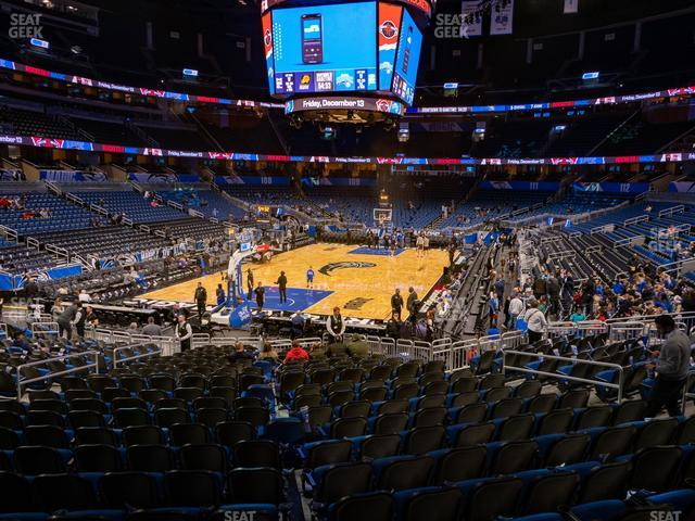Amway Center Section 118 view