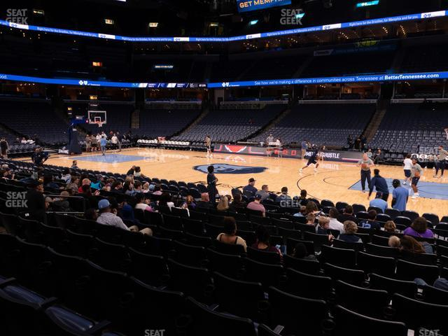 FedExForum Section 115 view