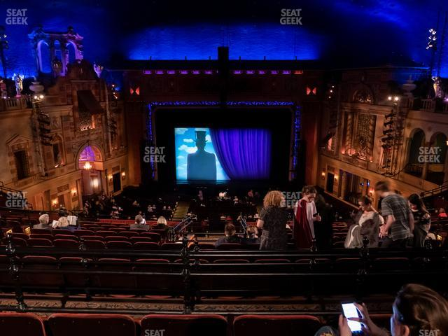 Saenger Theatre - New Orleans Balcony Center view