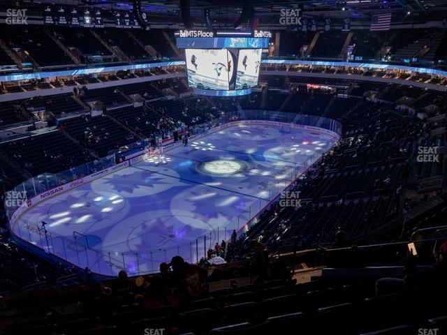 Bell MTS Place Section 310 view