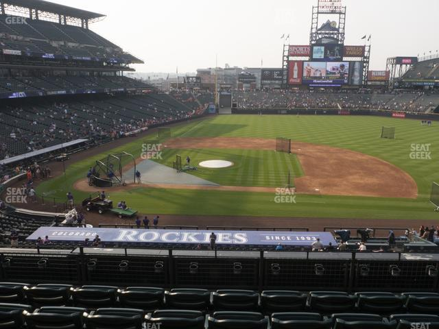 Coors Field Section 223 view