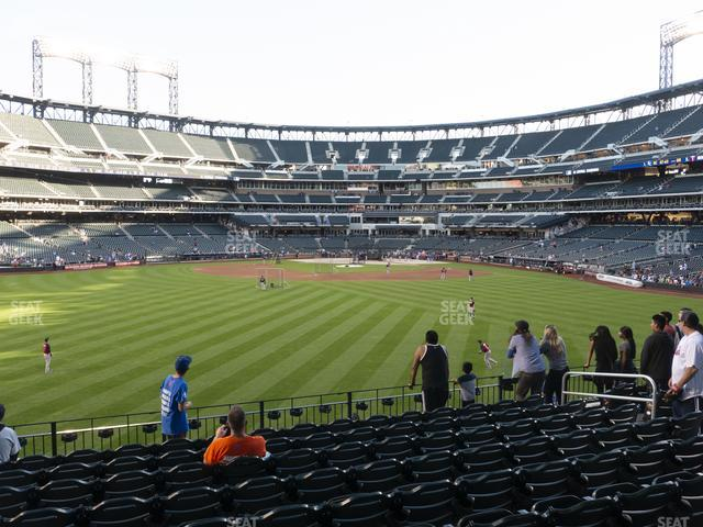 Citi Field Section 138 view