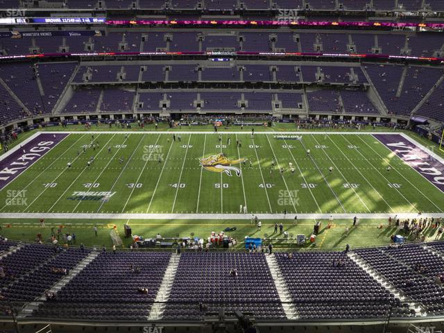 U.S. Bank Stadium Section 312 view