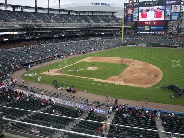 Comerica Park Section 219 view