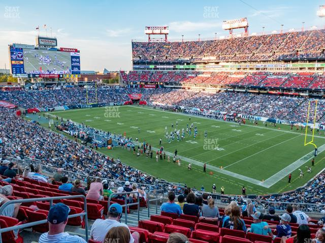 Nissan Stadium Section 228 view