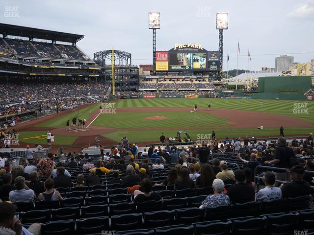 PNC Park Section 113 view
