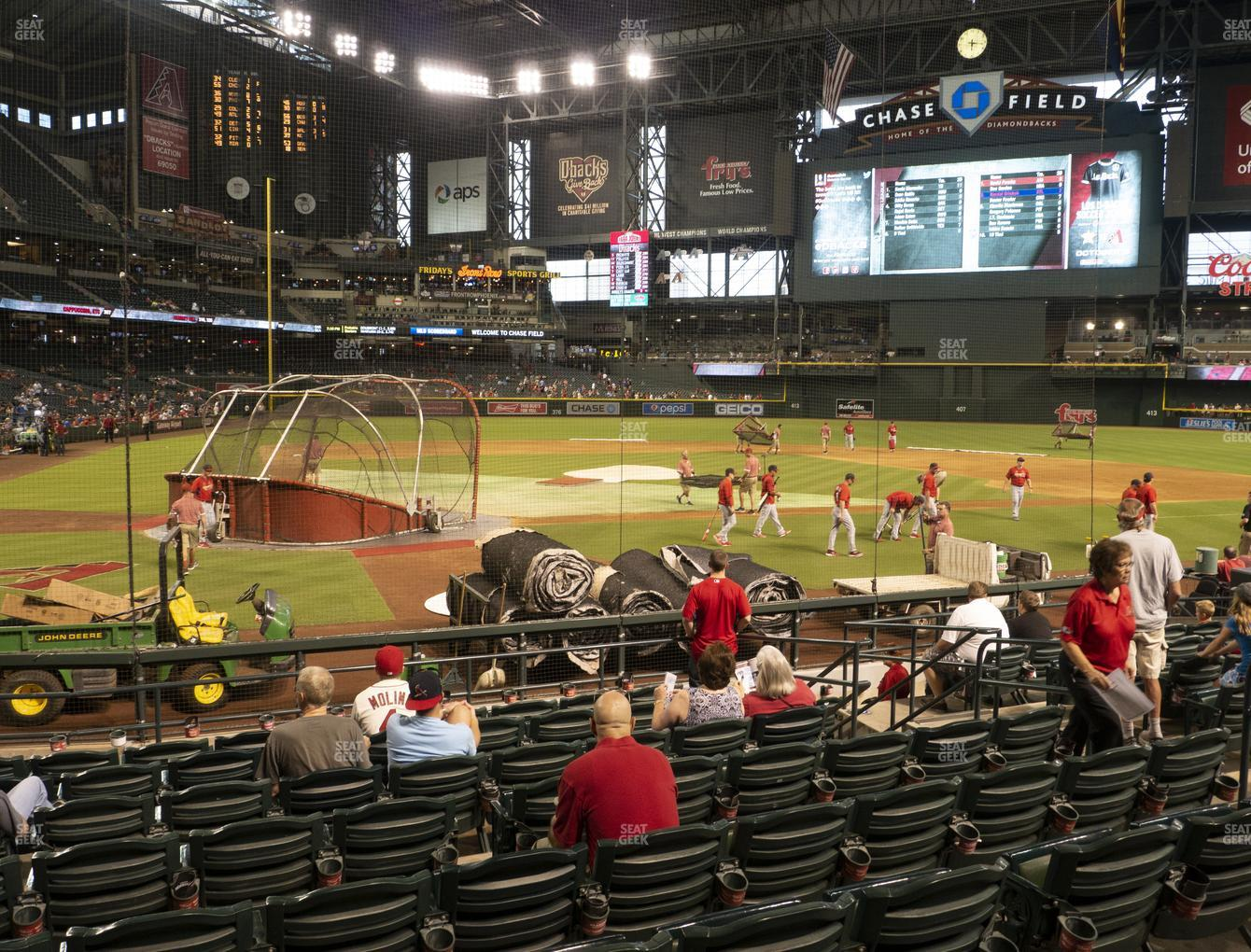 MLB at Chase Field Section H View