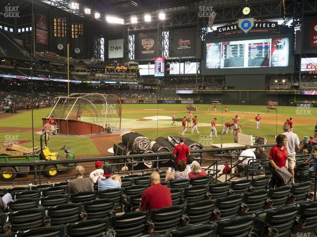 Chase Field Section H view