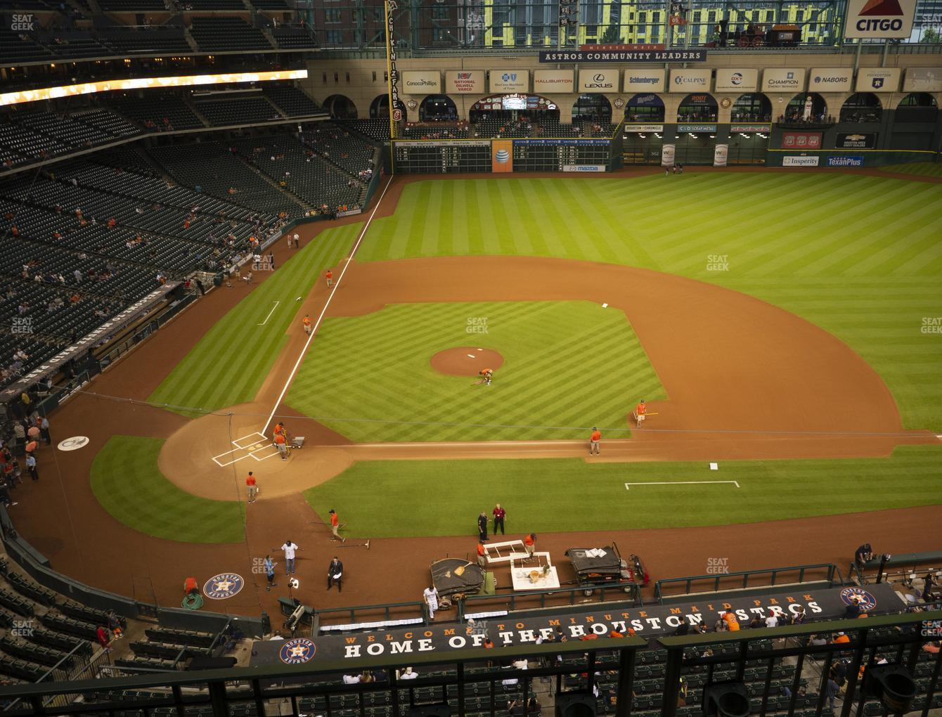 Minute Maid Park Section 324 Seat Views Seatgeek