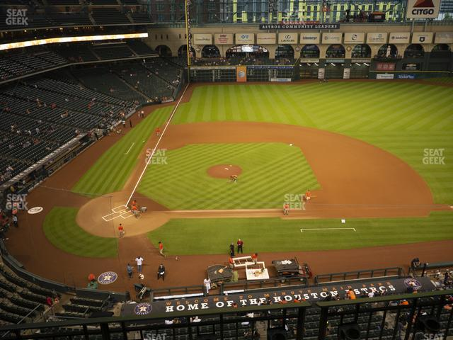 Minute Maid Park Section 324 view