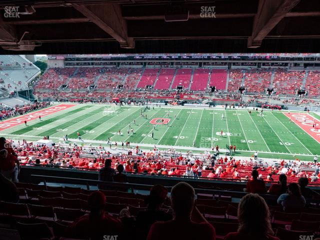 Ohio Stadium Section 18 B view
