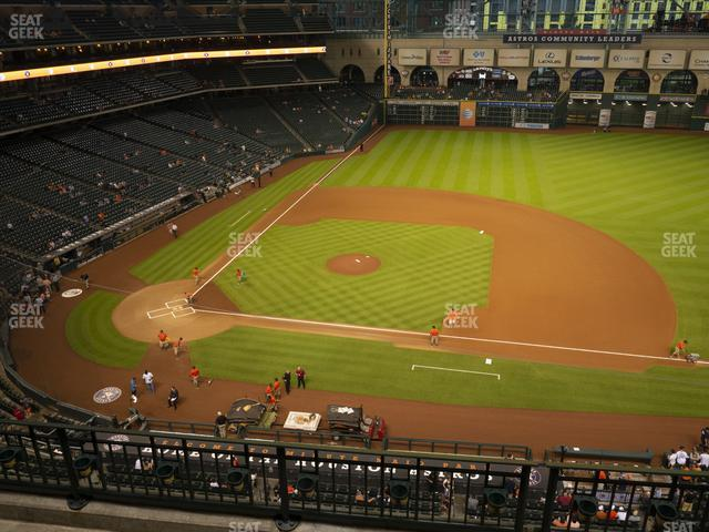 Minute Maid Park Section 325 view