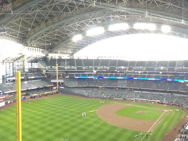 Miller Park Section 438 view