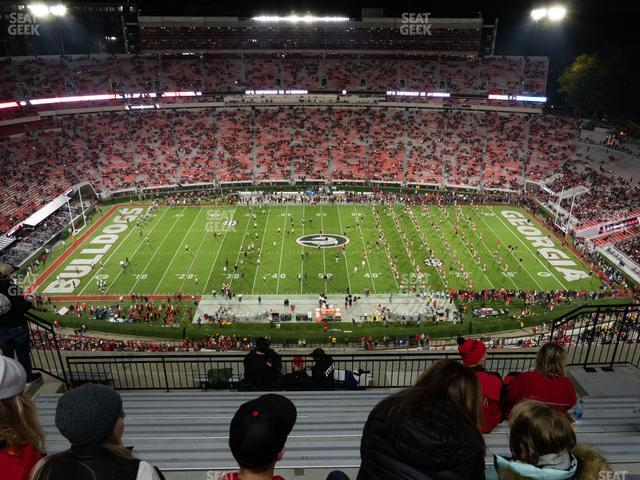 Sanford Stadium Section 607 view