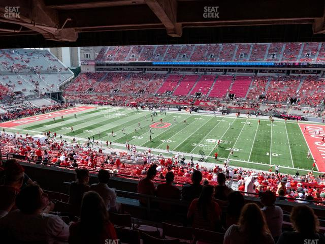 Ohio Stadium Section 16 B view