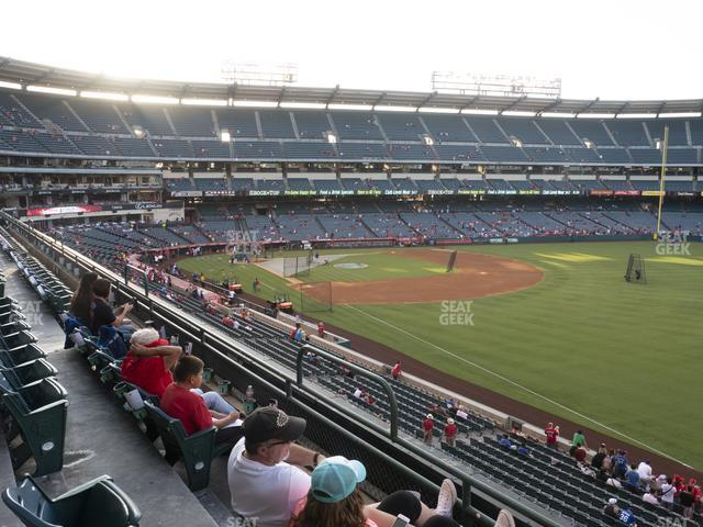 Angel Stadium of Anaheim Section 345 view
