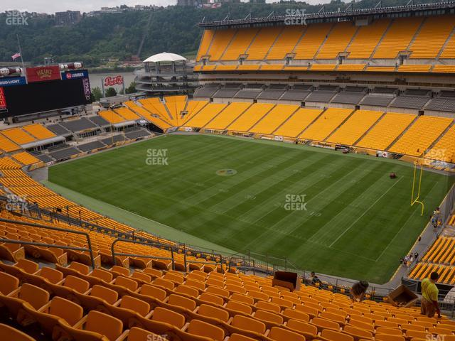 Heinz Field Section 516 view