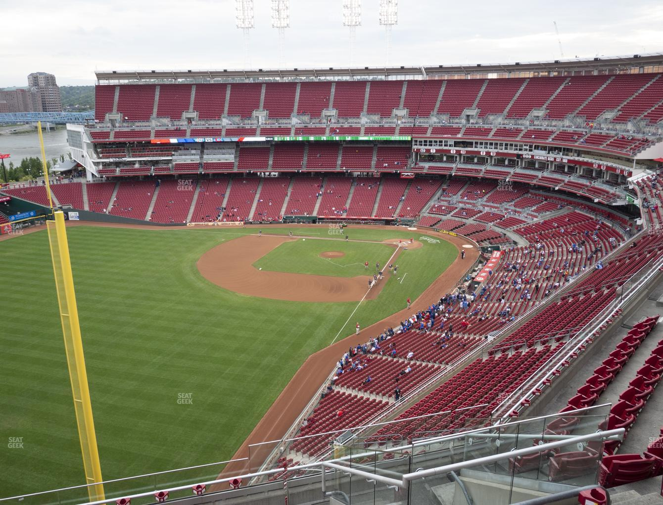 Cincinnati Reds at Great American Ball Park Section 509 View
