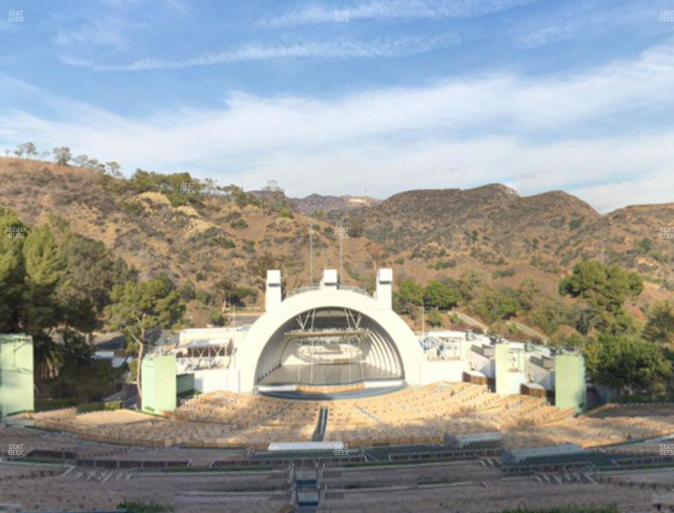 Concert at Hollywood Bowl Section T 1 View