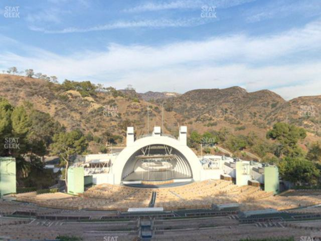 Hollywood Bowl Section T 1 view