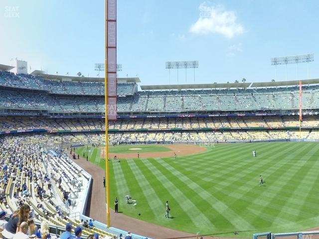 Dodger Stadium Loge Box 168 view