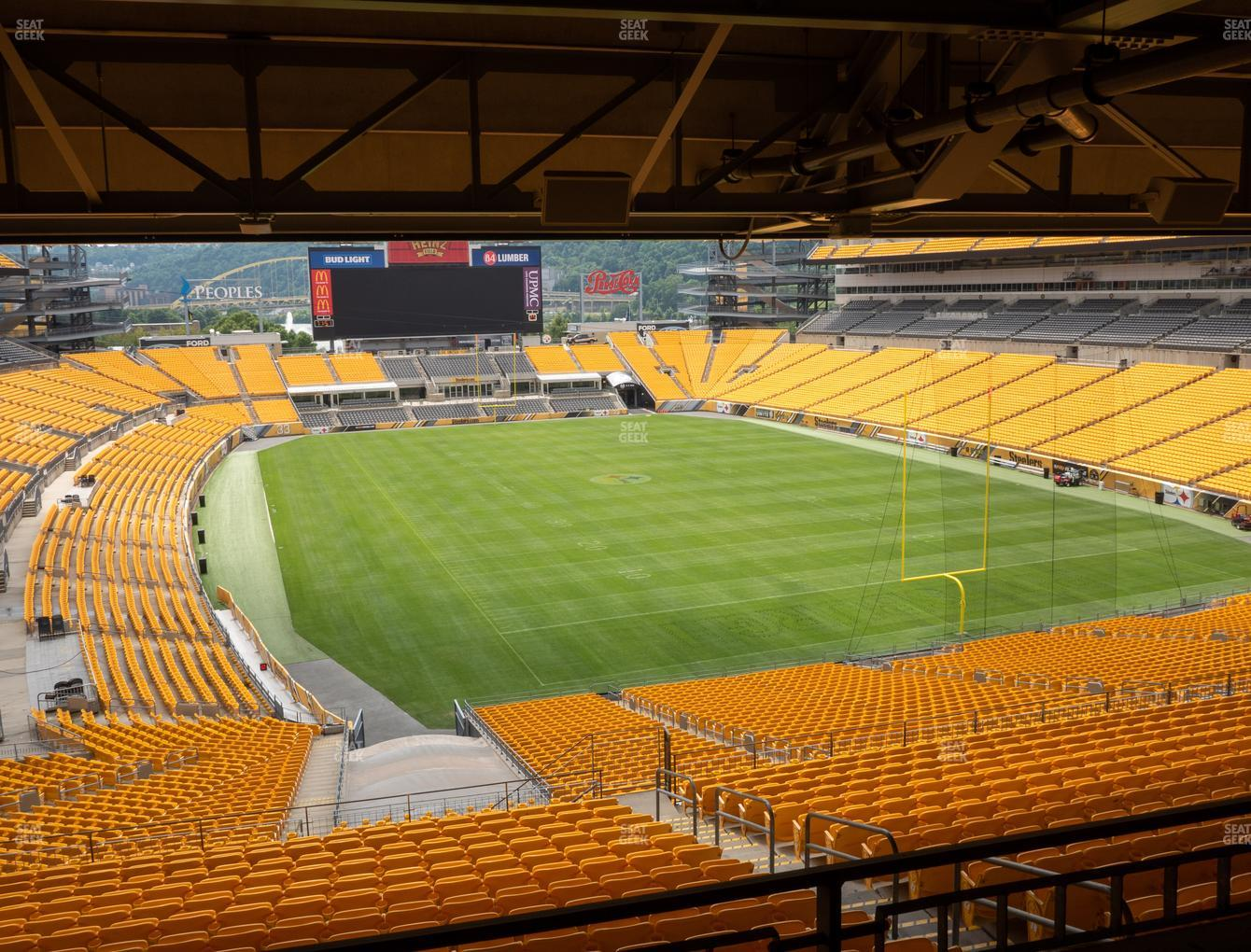 Pittsburgh Steelers at Heinz Field North Club 005 View