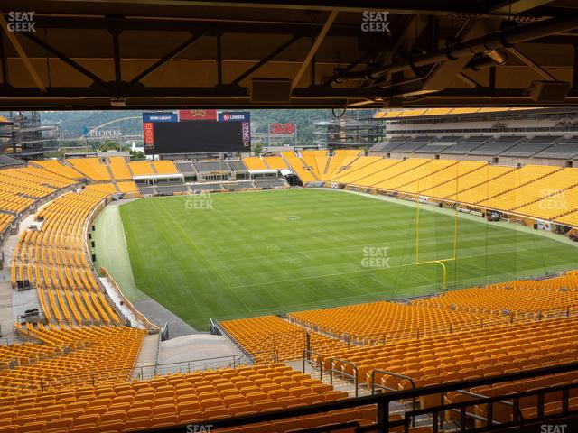 Heinz Field North Club 005 view