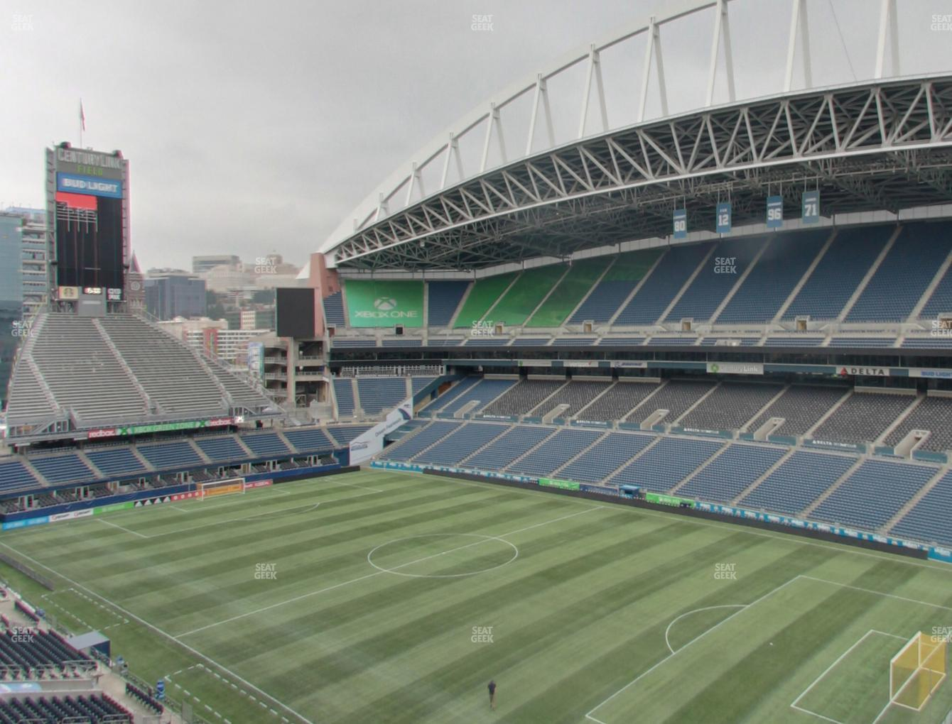 Seattle Sounders FC at CenturyLink Field Lower 329 View