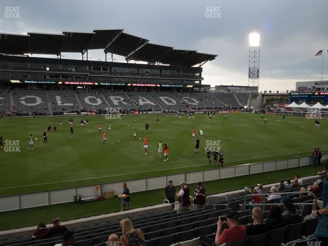 Dick's Sporting Goods Park Section 109 view