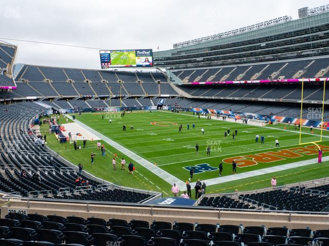 Soldier Field Section 226 view