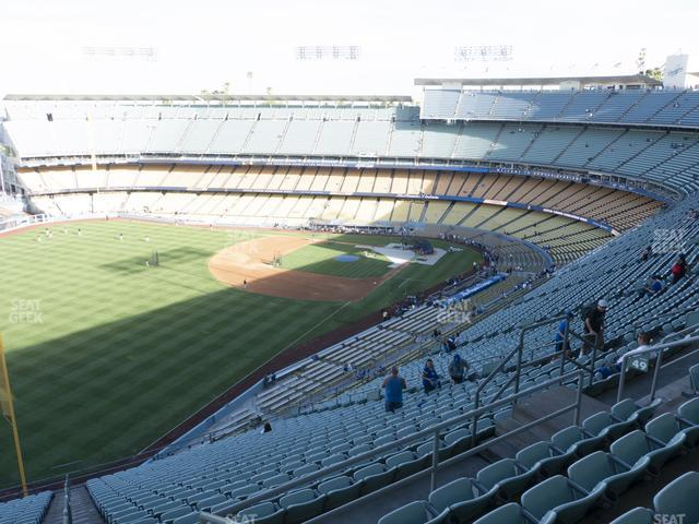Dodger Stadium Reserve 49 view
