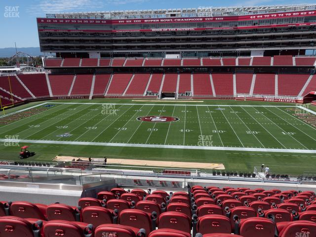 Levi's Stadium Section C 215 view