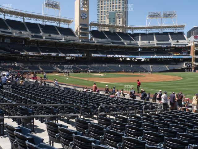 Petco Park Section 117 view