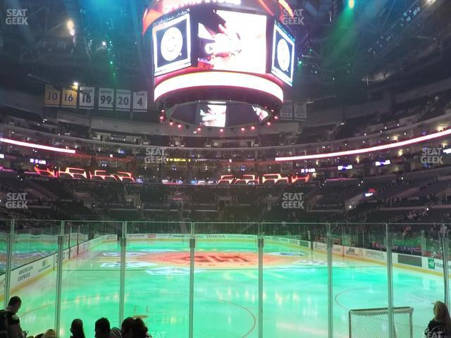 Staples Center Section 107 view