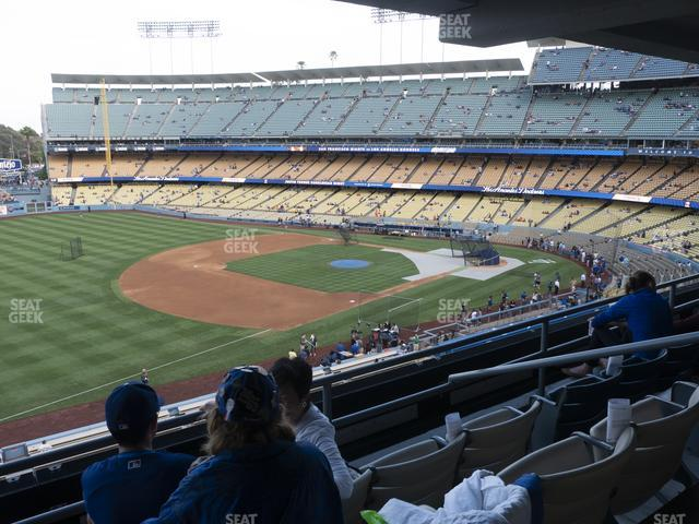 Dodger Stadium Suite 202 view
