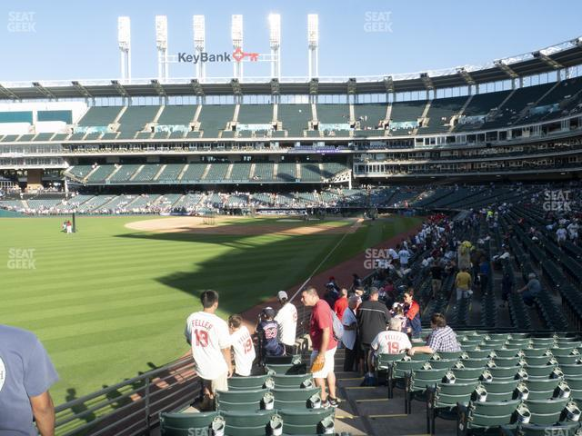 Progressive Field Section 179 view