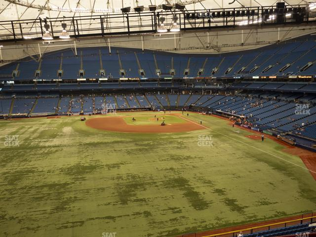 Tropicana Field Section 351 view
