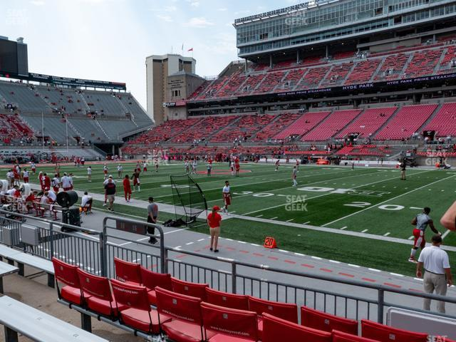 Ohio Stadium Section 16 AA view