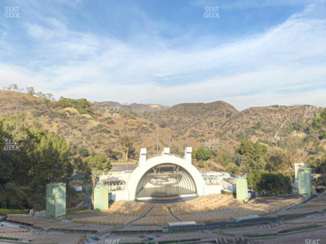 Hollywood Bowl Section X 1 view