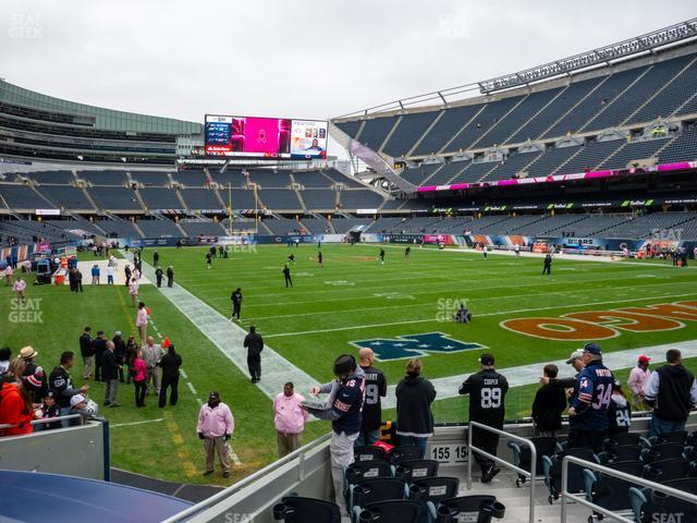 Soldier Field Section 155 view