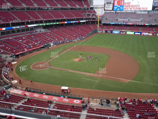 Great American Ball Park Section 431 view
