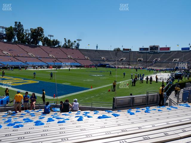 The Rose Bowl Lower 15 L view