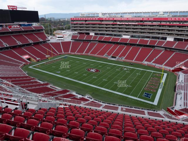 Levi's Stadium Section 407 view