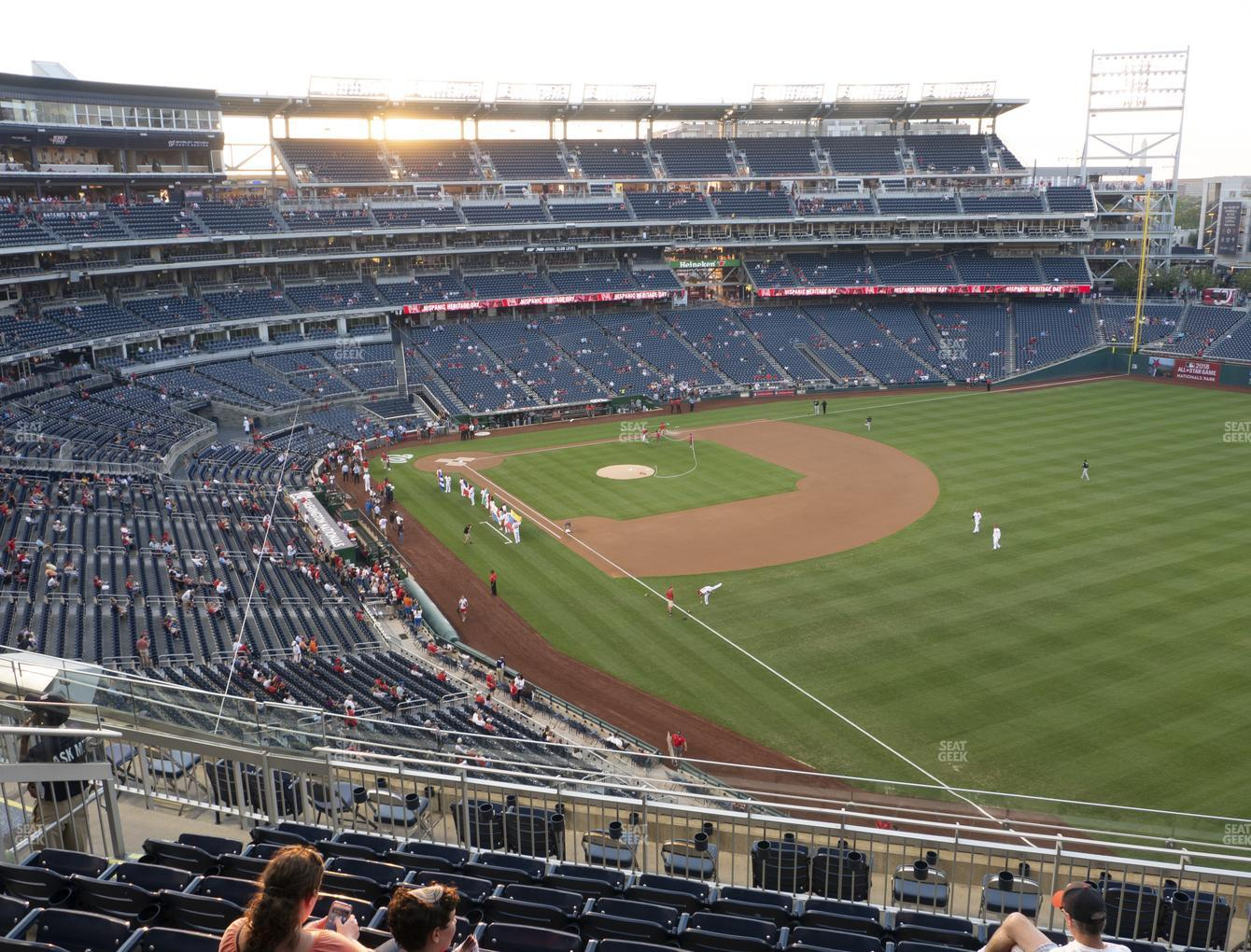 Washington Nationals at Nationals Park Section 228 View