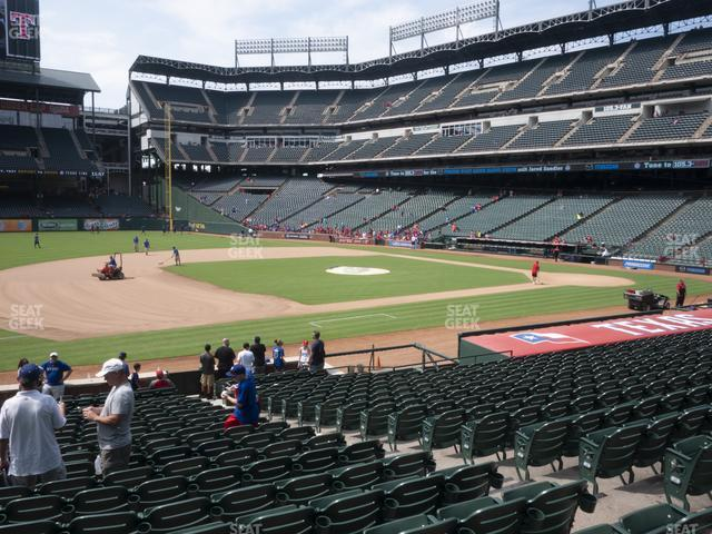 Globe Life Park Section 17 view